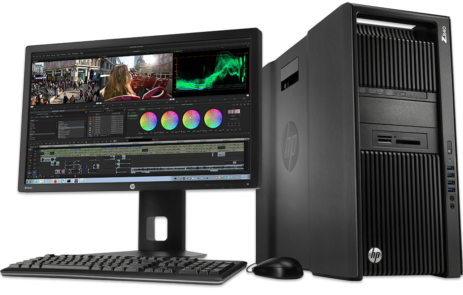 WorkStations de Render After Effects y DaVinci workstation windows para editar video adobe premiere da vinci