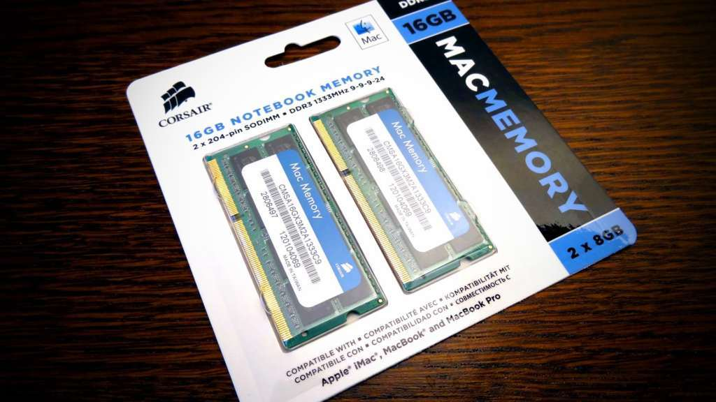 Ampliación de Memoria RAM para iMac y MacBook 8gb ram macbook 16gb macbook pro