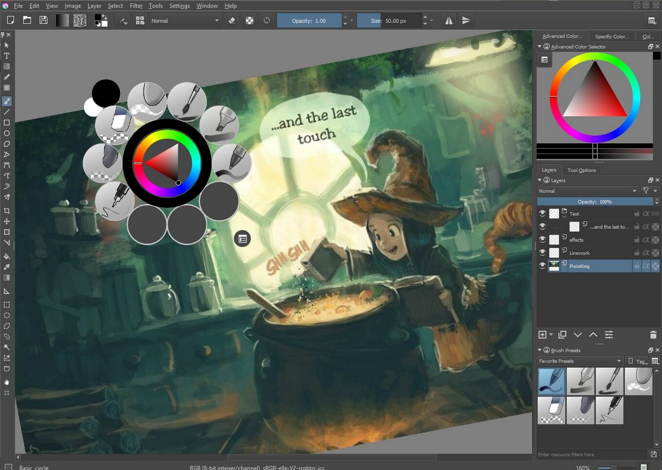 descargar krita descargar programa photoshop gratuito alternativa photoshop